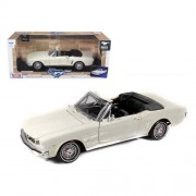 Motormax - 1/18 American Classics Die-Cast Collection 1964 1/2 Ford Mustang Convertible (Off-White)