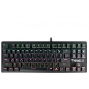 GAMDIAS HERMES E2 7 Color Backlit Gaming Mechanical Keyboard, 87 keys, Blue Switches, Anti-ghosting, Multimedia control