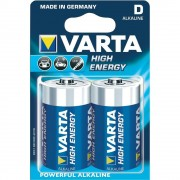 Baterie Alcalina Varta High Energy D Mono LR20, 2buc/blister