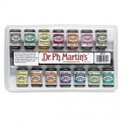 Dr. Ph. Martin's Radiant Concentrated Water Color Bottles, 0.5 oz, Set of 14 (Set C)