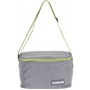 Chladící taška 4L šedozelená