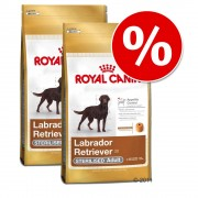 Pack Ahorro: Royal Canin Breed adulto - Labrador Retriever - 2 x 12 kg