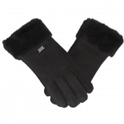 Дамски ръкавици EMU AUSTRALIA - Apollo Bay Gloves M/L Black