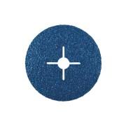 Disc Abraziv pe Suport de Fibra Vulcanizata pentru Inox / Otel, Kfz, 125 X 22.23, Gr. 40