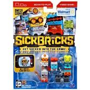 Spin Master Sick Bricks Spin Docter, Omega Blaster, Magna Minion, Sludge Hammer & Pyro Techie Minifigure 5-Pack