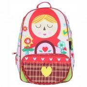 Mochila Kids Escolar - Chapeuzinho - Vermelho - OD-MKCV - Ó Design