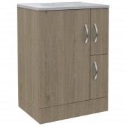 Mueble De Baño Vanguard TuHome - Rovere / Blanco