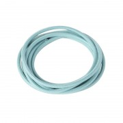 QAZQA Cavo in tessuto intrecciato per 1 metro di colore azzurro