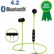 Bluetooth 4.2 In-ear Oortjes / Draadloze Koptelefoon / Wireless Headset / Oordopjes / Oortje / Hoofdtelefoon / Oortelefoon / Inear Headphones / Headphone / Draadloos / Sport Headsets / Earbud / Ear-bud / Muziek / Earphones / Groen