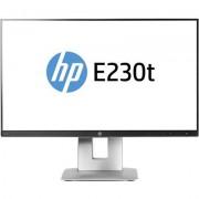 HP EliteDisplay E230t (23'') Touch Monitor con IPS e microbordi