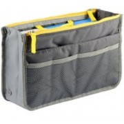 Styleys Grey Handbag Organizer For Easy Handbag Changing(Grey)