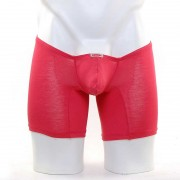 MIIW Minimum Ultra Low Rise Long Boxer Brief Underwear Red 2034-12