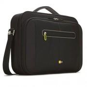 Geanta Case Logic PNC216, pentru laptop, 16 inch, Negru/Verde