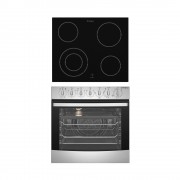 Westinghouse WVE645S 60cm Electric Built-In Oven & 60cm Ceramic Cooktop Pack