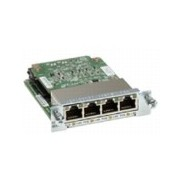 Cisco Four port 10/100/1000 Ethernet switch interface card