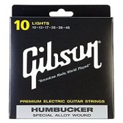 Gibson Gear SEG-SA10 Coated Nickel Electric Guitar Strings Light