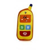 Lorelli Mobile with Orange body& yellow display - telefon mobil jucarie din plus