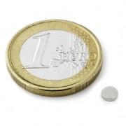 Magnet neodim disc, diametru 4 mm, putere 250 g