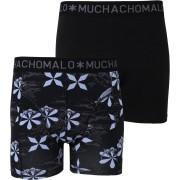 Muchachomalo Shorts 2er-Pack 98 - Schwarz Größe S
