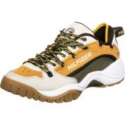 Tommy Jeans Heritage Herren Schuhe braun beige grau Gr. 40,0