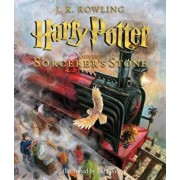 Harry Potter and the Sorcerer's Stone: The Illustrated Edition (Harry Potter, Book 1): The Illustrated Edition, Hardcover/J. K. Rowling