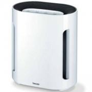 Пречиствател на въздух Beurer LR 210, трислойна филтърна система, HEPA филтър, 10 м2-28 м2, автоматично изключване, Бял