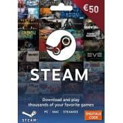 Steam €50 Gift Card EUR - (Key/Code)