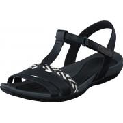 Clarks Tealite Grace Black Leather, Skor, Sandaler & Tofflor, Remsandaler, Svart, Dam, 40