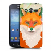 Husa Samsung Galaxy Core 4G LTE G386F Silicon Gel Tpu Model Desen Vulpe