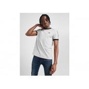 Fred Perry Taped Retro Ringer T-Shirt Heren - Grey/Black - Heren