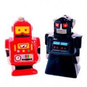 Saleiro e Pimenteiro Robôs - 2 Peças