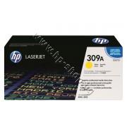 Тонер HP 309A за 3500/3550, Yellow (4K), p/n Q2672A - Оригинален HP консуматив - тонер касета