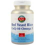 Red Yeast Rice CoQ-10 Omega 3, 60 capsule