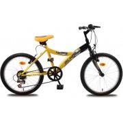 "Olpran dječji bicikl Lucky 20"", crno-narančasti"