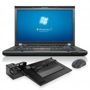 IBM ThinkPad T520 Notebook inklusive Port-Replicator Lenovo Mini Dock 3