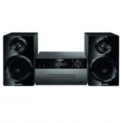 Microsistem audio Blaupunkt MS50BT, 120 W, CD, AUX, USB, Radio, Bluetooth, Telecomanda, Negru