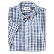Suncook River Small Gingham Shirt Slim