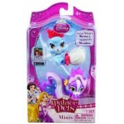 Figurina Iepurasul Albei ca zapada si Sconcsul lui Rapunzel Palace Pets Disney