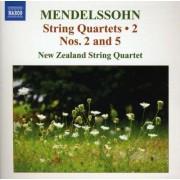 F. Mendelssohn-Bartholdy - String Quartets Vol.2 (0747313000272) (1 CD)