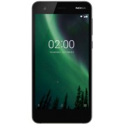 "Telefon Mobil Nokia 2, Procesor Quad Core 1.3 GHz, LTPS LCD, 5.0"", 1GB RAM, 8GB Flash, 8MP, Wi-Fi, 4G, Dual Sim, Android (Negru) + Cartela SIM Orange PrePay, 6 euro credit, 6 GB internet 4G, 2,000 minute nationale si internationale fix sau SMS nationale d"