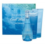 COOL WATER WOMAN ESTUCHE 100ML EDT para Mujer +75ML SHOWER BREEZE GEL+75ML BODY LOCION