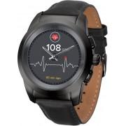 MyKronoz Hybridní hodinky ZeTime Premium Black/Black - 44 mm