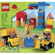LEGO DUPLO My First Construction Site 10518 Toy, Kids, Play, Children