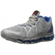 Reebok Men s Zjet Burst Running Shoe Tin Grey/Blue Sport 8.5 D(M) US