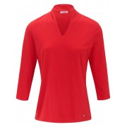 Efixelle Dames Shirt van 100% katoen Van Efixelle rood