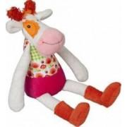 Jucarie bebelusi Ebulobo Mini Doll Anemone the Cow