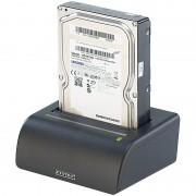 """Xystec USB-Docking-Station für 2,5""""- & 3,5""""-SATA-Festplatten, inkl. Netzteil"""