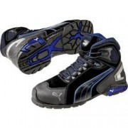 PUMA Safety Bezpečnostní obuv S3 PUMA Safety Rio Black Mid 632250-47, vel.: 47, černá, modrá, 1 pár