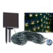 Solar-LED-Lichternetz, 144 LEDs, weiss, 2 x 2 m, IP44 | Lichternetz