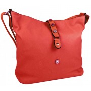 Velká dámská crossbody kabelka L2037 červená